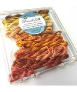 Yellow French Silk Set Limited Edition Collection cross stitch Kreinik  - $19.80