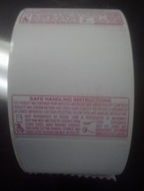 SAFE HANDLING LABELS (MEAT MARKETS) FOR SCALE PRINTERS, 1500 LABELS ROLL... - $128.65