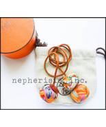 RARE Hermes Silk Pompom Pom Pom Bag Charm with box & dust bag MULTICOLOR... - $1,500.00