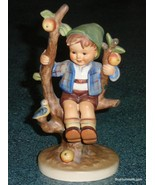 "LARGE ""Apple Tree Boy"" With Bird Goebel Hummel Figurine #142/I TMK3 Vint... - $126.09"