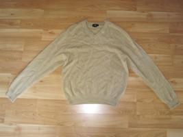 Men's Club Room 100% Cashmere Sweater Tan Size: M - €24,02 EUR