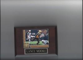LANCE MOORE PLAQUE NEW ORLEANS SAINTS FOOTBALL NFL - $2.56