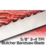 "5/8"" X 3-4 TPI X 82"" Butcher BandSaw Blade Laguna Meat Blade Frozen/Bone - $28.70"