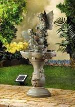 12842 SHIPS FREE Cascading Fountains Decorative Garden Patio Fairy Solar... - $232.99