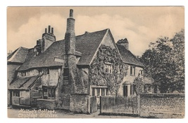 Great Britain UK Milton's Cottage Chalfont St Giles Vintage Postcard Eng... - $4.99