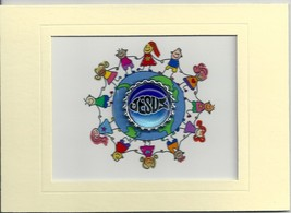 Christian Plaque - Hand Crafted - Jesus - Child... - $5.93