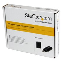 StarTech.com USB Stereo Audio Adapter External Sound Card ICUSBAUDIOB image 6