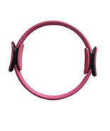 "14"" Black Pilate Ring Circle Exercise Fitness Weight Loss Red - $18.99"