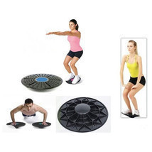 Balance Board For Fitness Therapy Workout Gym Rehab Muscle Definition He... - €28,59 EUR