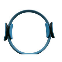 "14"" Black Pilate Ring Circle Exercise Fitness Weight Loss Blue - $18.99"
