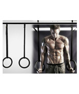 Fitness Training OLYMPIC Gymnastics Crossfit Rings with Suspension Strap... - $53.99
