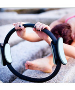 "14"" Black Pilate Ring Circle Exercise Fitness Weight Loss Black - $18.99"