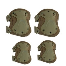 the protector tactical protector set camouflage kneelet elbow pad   army green - $28.99
