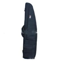 1000cm oblique mouth letter bag fishing bag outdoor knapsack   Black - $39.99