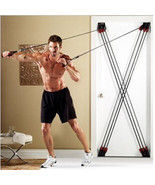 THE TOTAL BODY TRAINING SYSTEM X Shape Door GYM - $99.99