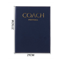 Foldable markers tactics coaching board Football Sport strategy board Coaches - $15.99