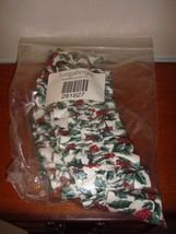 Longaberger Traditional Holly Large Garter - $14.59