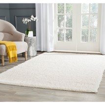 8' x 10' White Shag Rug Athens Style Turkish Outdoor Sun Porch Area Rug - $297.69