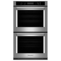 """Kitchenaid KODT107ESS 27"""" Double Electric Wall Oven in Stainless Steel - $1,975.99"""