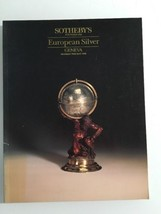 Sotheby's Auction Catalog : European Silver / Geneva May 1988 - $19.80