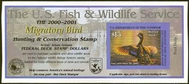 RW67A, DUCK STAMP SELF-ADHESIVE SHEET - VERY LOW PRICE! - $20.00