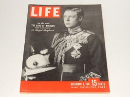 Life Magazine ~ December 8, 1947 ~ The Duke of Windsor - $14.01