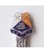 Collector souvenir spoon belize coat of arms cloisonne emblem  1  thumbtall