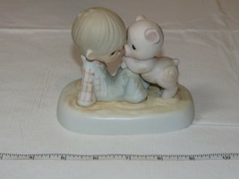 Precious Moments Jonathan & David 1982 We're In It Together figurine - $39.59