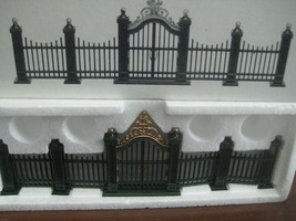 Heritage Village Wrought Iron Gate and Fence Department 56 - $7.00