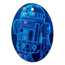 Oval Ornaments - Star Wars R2d2 Procelain Ornament (Oval) Christmas - $3.99