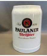 Paulaner Munich German Beer Ceramic Stein - $7.89