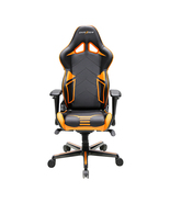 DXRacer OH/RV131/NO High-Back Gaming Chair Carbon Look Vinyl+PU(Black/Or... - $359.00