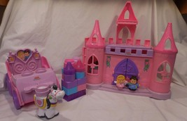 Little People Palace Castle Dance N Twirl Playset Sounds + Royal Carriag... - $32.33