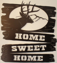 Home Sweet Home Welcome Sign Metal Wall Art Home Decor - $65.00