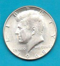 1968 D Kennedy Halfdollar - $3.00