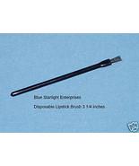 100 disposable lip stick applicator brush lot #505-4 - $13.95