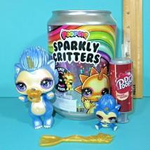 Poopsie Sparkly Critters Mom Cutie Tooties Baby Sprints Blue Hedgehog Figure Set - $29.95