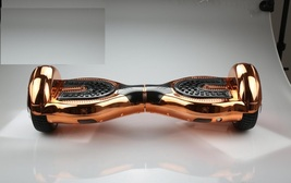 New Style! Chrome Rose Gold Bluetooth Hoverboard Electric Skateboard Sco... - €493,46 EUR