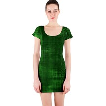 Sexy Green Paint Lines Tight Fitted Bodycon Dresses - Size & Sleeve Options - $29.09+