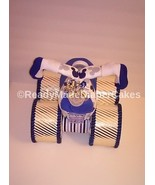Navy-Gold-Royal Blue-Grey-White Themed Baby Shower Four Wheeler Diaper C... - $50.00