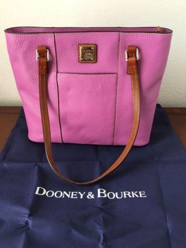 Dooney and Bourke Small Lexington Shopper bag in Lilac/purple