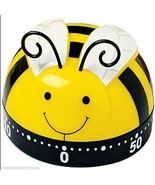 Kitchen Timer Busy Little BeeTimer 60 Minute Timer (Yellow-Black-White) ... - $14.83