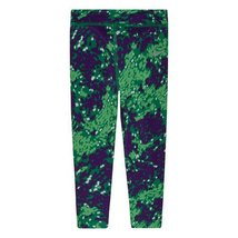 Girl's Nike Dri Fit Skinny Printed Leggings (6, Volt Green) - $24.97