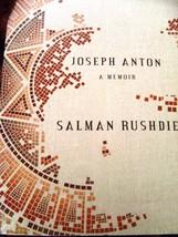 Joseph Anton A Memoir [Paperback] [Jan 01, 2012] Salman Rushdie - $9.95