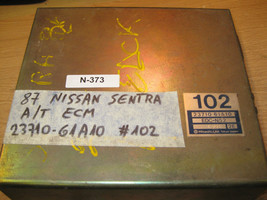 87 NISSAN SENTRA A/T ECU/ECM #23710-61A10 #102*description* - $80.18