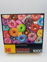 "Premium Jigsaw Puzzle 1000 Pieces 20""X27""-I Love Donuts -8700AC - $18.21"