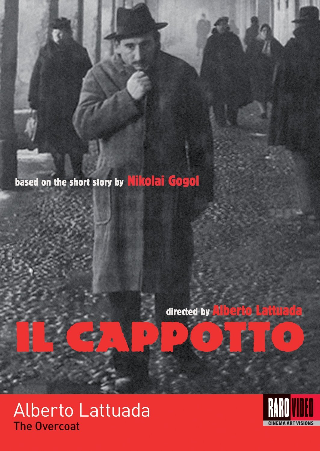 The Overcoat (IL Cappotto) DVD, Raro Video (pre-viewed)