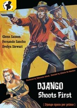 Django Shoots First (DVD, 1966) (pre-viewed) rare OOP