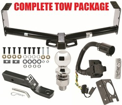 Complete Trailer Hitch Receiver Tow Package For 10-15 Toyota Tundra ~ No Drill - $200.43