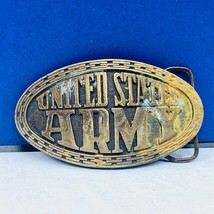 Army Brass belt buckle Welcome United States military enlisting gift vtg usa usm - $14.45